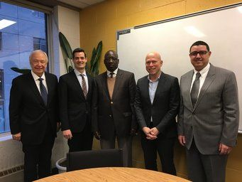 Montreal: Joint Working Session with ESG-UQAM for a new partnership agreement – Official Picture