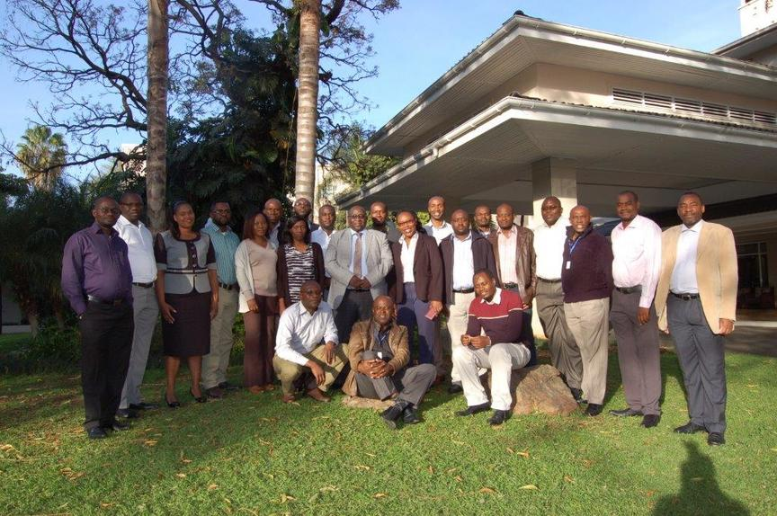 Seminar in Monitoring and Evaluation for Results - Official picture