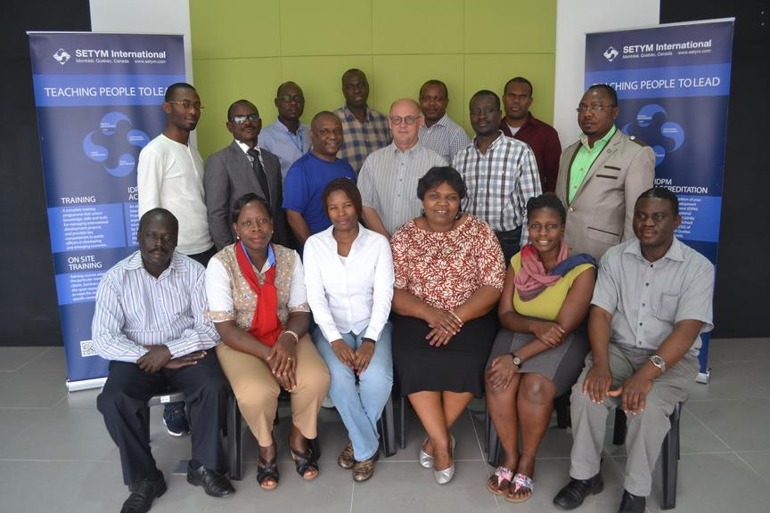 Formation en Budgétisation et maîtrise des coûts de projets et programmes - Photo officielle