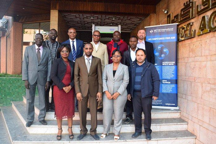 Formation en Gestion administrative et fiduciaire des projets et programmes - Photo officielle