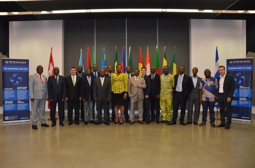 Formation en Financement de projets en mode partenariats public-privé PPP - Photo officielle