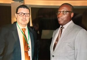 Revision of the MAPS in Dakar - M. Bennouna and M. Fall, Director of the National Administration School of Senegal