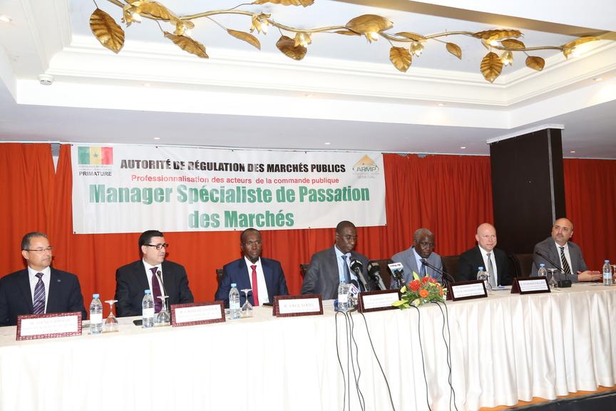 Cérémonie de remise de diplôme Armp Sénégal - ouverture