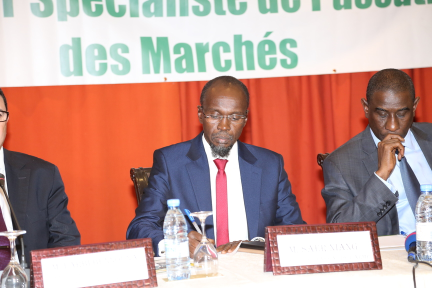 Cérémonie de remise de diplôme Armp Sénégal - Sale Niang