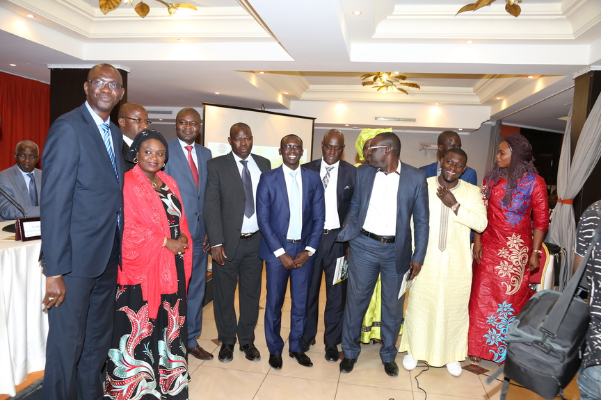 Cérémonie de remise de diplôme Armp Sénégal - Diplômés