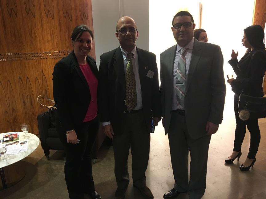 Rencontre officielle délégation cubaine - M. A. Omar de J. Fernandez Jimenez, Secrétaire général de la chambre de commerce de la République de Cuba