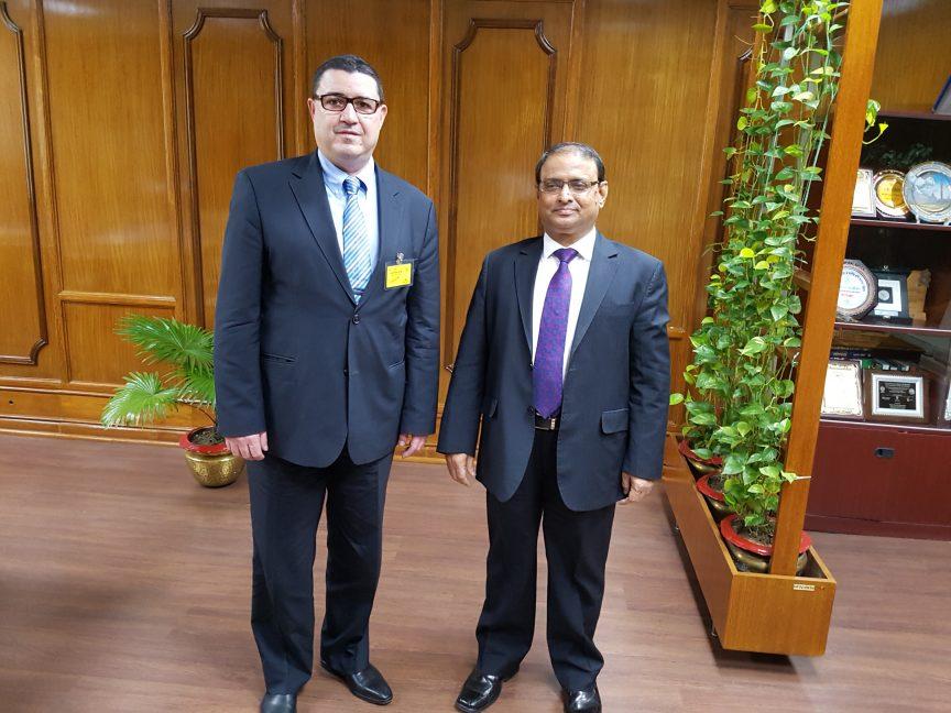 Mission commerciale au Bangladesh - M. Abu Hena Mohd. Razee Hassan, gouverneur adjoint de la Banque Centrale du Bangladesh
