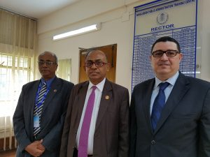 Business trip Bangladesh - M. A. L. M. Abdur RAHMAN, Rector and Mr. Rizwan Khair, Member Directing Staff