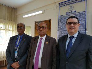 Mission commerciale au Bangladesh - Mr. A. L. M. Abdur RAHMAN, Recteur, et Mr. Rizwan Khair, Membre de la direction du Centre d'enseignement de l'administration publique du Bangladesh