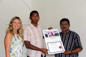 Training RBM PRIASO Madagascar - ceremony SETYM