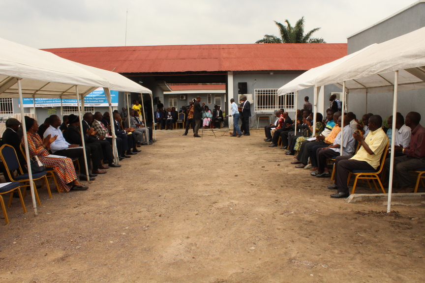 Graduation ceremony at the National Institute of Statistics (DRC)