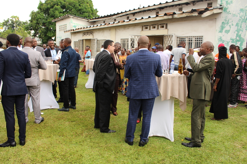 Graduation ceremony at the National Institute of Statistics (DRC) - Cocktail