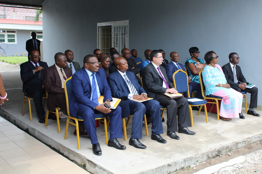 Graduation ceremony at the National Institute of Statistics (DRC) - Audience