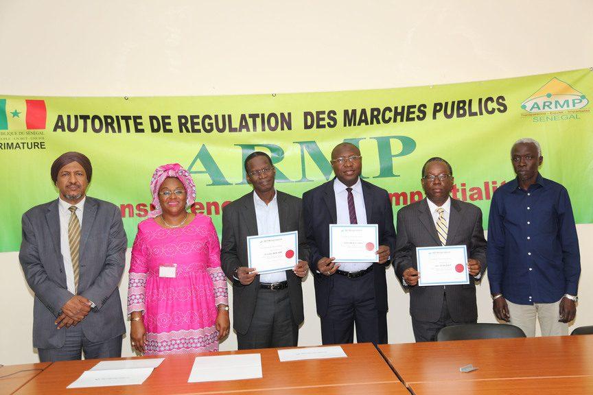 Formation en Contrôle et audit des marchés publics - Photo officielle