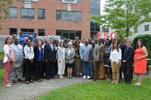 Formation de Préparation à l'accréditation MPDI (Manager de projet de développement international) - photo groupe