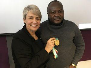 Certification en leadership et habiletés de direction - médaillée olympique