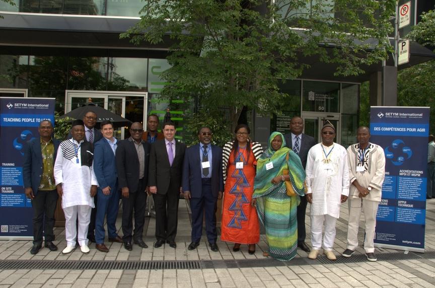 Formation en Financement de projets en mode partenariat public-privé (PPP) - photo officielle