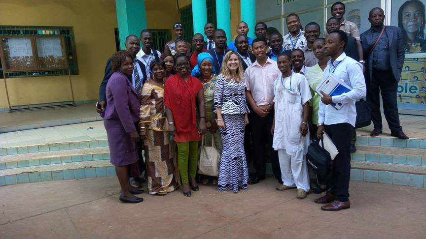 Training on the Implantation of Monitoring & Evaluation systems (SISE) - Official Picture