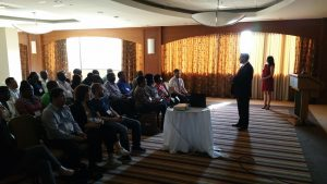Training in Managing and Leading Strategic Communication - CEO speech