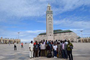 Formation en Gestion administrative et fiduciaire des projets et programmes - visite Casablanca