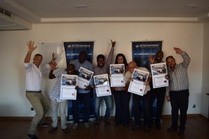 Training in Monitoring and Evaluation for Results - certificates