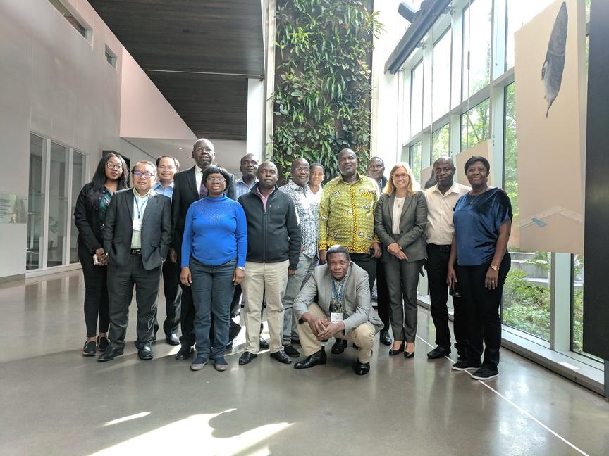 Voyage d'étude en Gouvernance publique - photo de groupe
