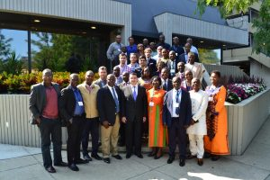 Training in Results-Based Management (RBM) and Performance Measurements - Group picture