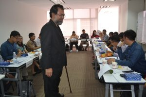 Training on Ethics and Corporate Culture - classroom