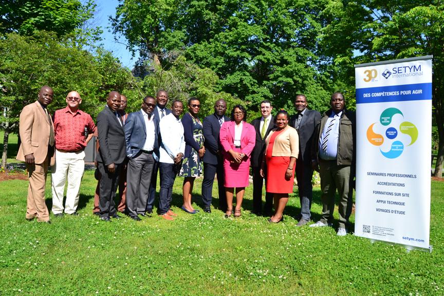 Formation en Gestion des finances publiques - photo de groupe