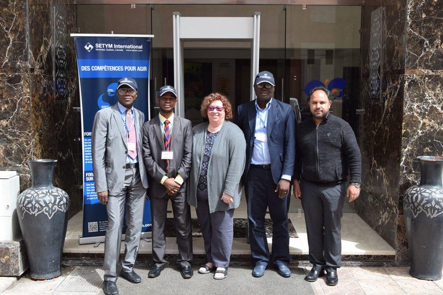 Formation PEFA : cadre de référence en gestion des finances publiques - photo de groupe
