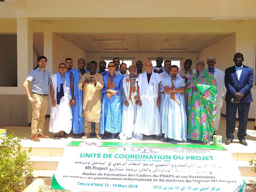 Formation des cadres de l'UCP sur la Planification des Projets avec MS Project - photo officielle