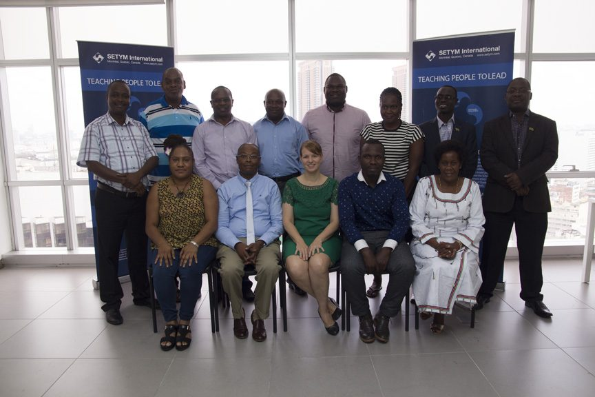 Training in project Management, Monitoring and Control - Group picture