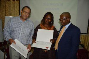 Formation en Gestion des ressources humaines - Remise des certificats