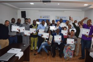 Training on Project Management, Monitoring and Control - Certificats
