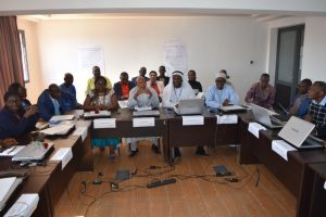 Training on Human Resources Management and Development - Certificate ceremony