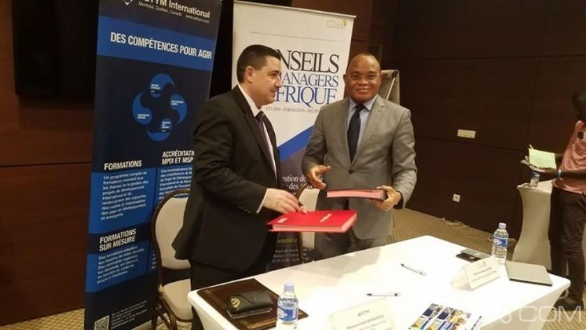 Accord de partenariat SETYM et CTMA en Côte d'Ivoire - PDG