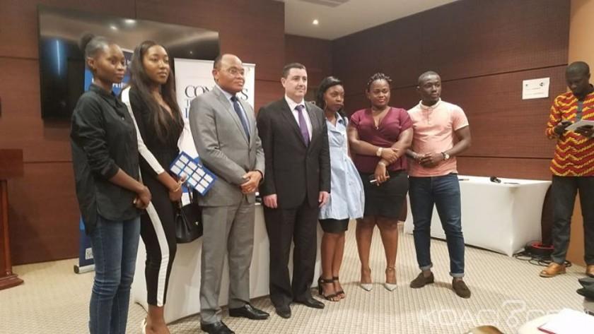 Accord de partenariat SETYM et CTMA en Côte d'Ivoire - Photo de groupe