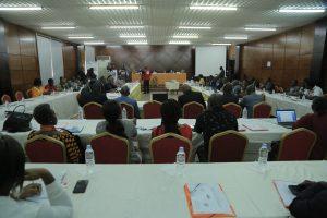 Formation en Gouvernance environnementale et sociale du secteur minier - Salle de Classe