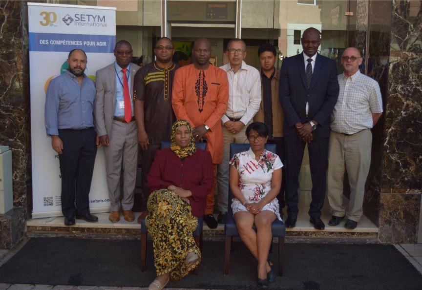 Séminaire en Identification, préparation et budgétisation de projet - Photo officielle