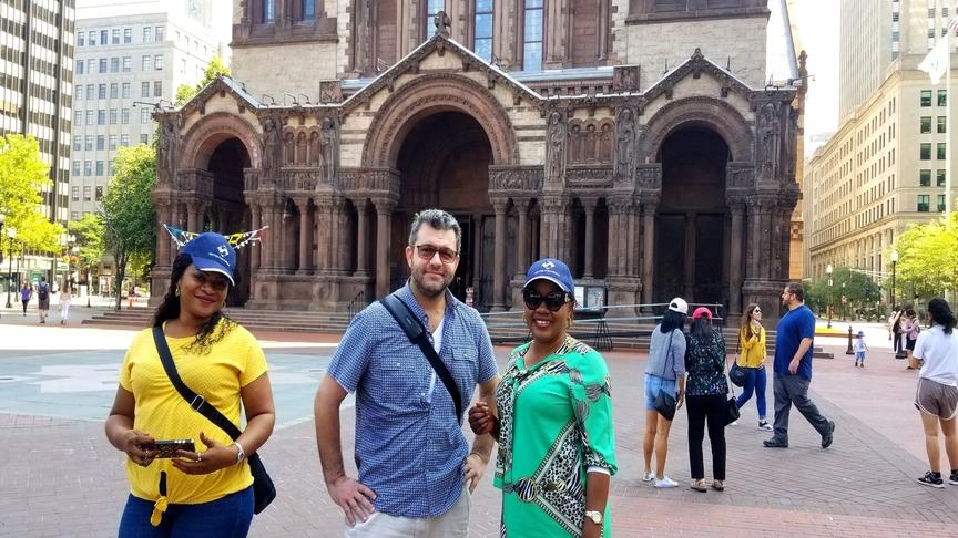 Visite touristique pendant la formation en gestion axée sur résultats (GAR) et mesure de la performance