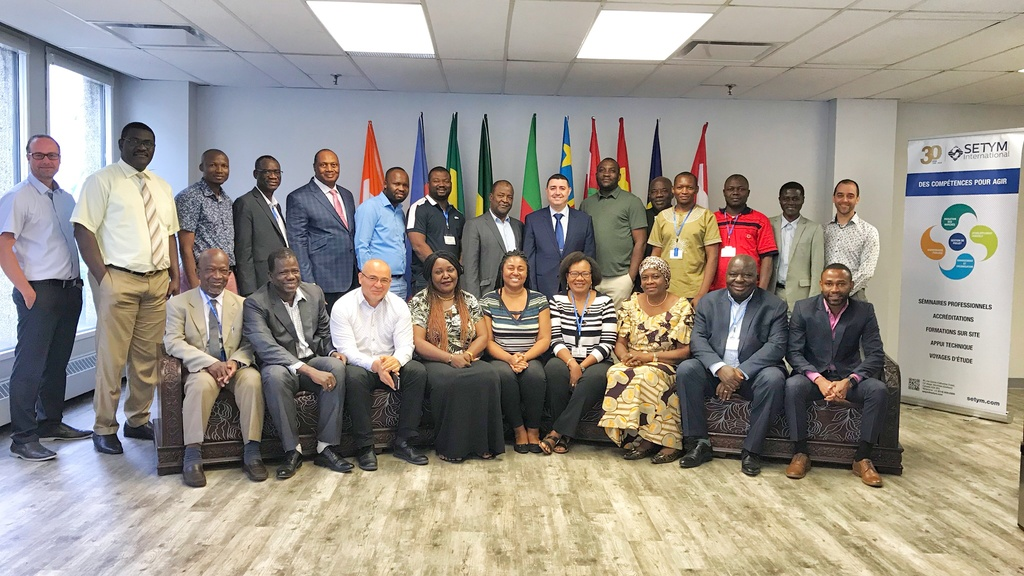 Photo officielle de la formation en gestion des projets et programmes : planification, exécution et contrôle dispensée par SETYM International