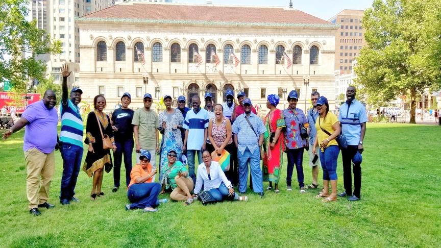 Sortie touristique pendant la formation en leadership, rôles et responsabilités du gestionnaire