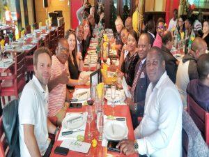 Déjeuner pendant la formation la formation en Management des Partenariats Public-Privé (PPP)