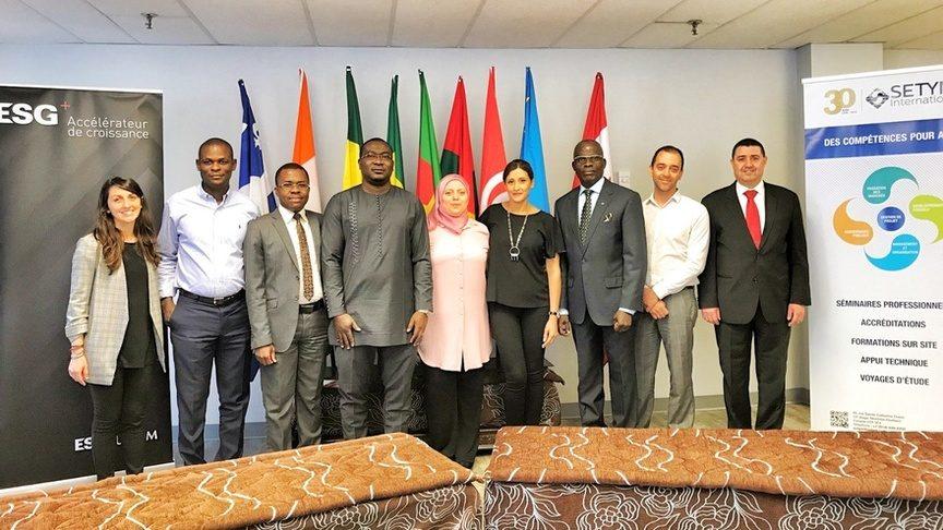 Photo officielle de la formation sur la Préparation à l'accréditation MPDI - Manager de projet de développement international