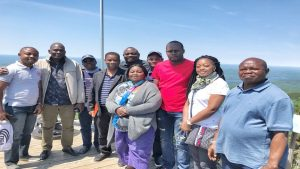 Tourism excursion during the SMPP Accreditation Training Session
