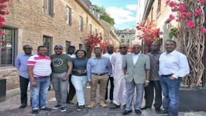 Visite touristique pendant la formation sur le plan de gestion des contrats selon le nouveau cadre de passation des marchés