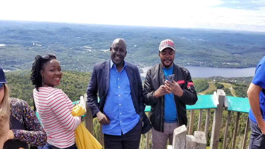 Visite touristique pendant la formation en gestion des finances publiques