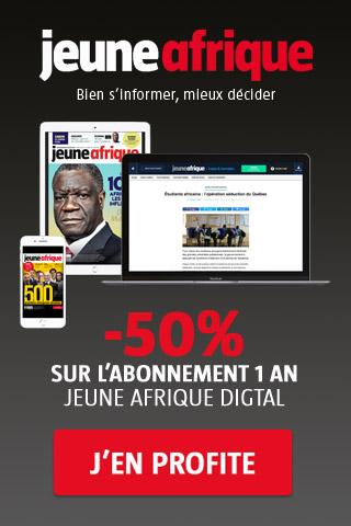 Promotion abonnement Jeune Afrique