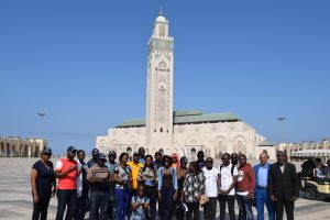 Sightseeing tour during the Development Training for Administrative and Executive Assistant