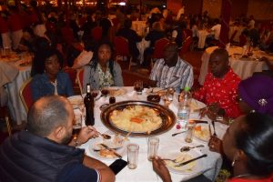 Dinner at the restaurant during the Development Training for Administrative and Executive Assistant